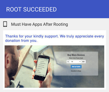 KingoRoot apk is the best way to root your android device