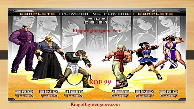The King of Fighter 99