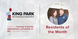 King Park Residents of the Month Mark and Tania Swartz