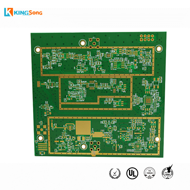 Custom 6 Layers Rogers + FR4 Mix Stack Up PCB Circuit Board Manufacturing