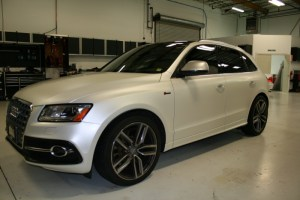 Audi Q5 Wrap Enhances Vehicle Cosmetics for Tigard Client
