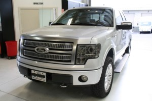 Tigard Client Gets Upgraded Ford F-250 Subwoofer System