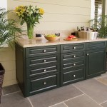 King StarBoard® ST made into Outdoor Cabinets