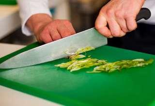 Chef Chopping on King CuttingColors® CB Green
