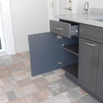 King DuraStyle® Custom Cabinet Door Program - Beaded Style Door and Drawer in Charcoal Gray