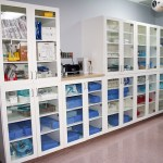 Clarion Hospital OR Cabinets Made with King MediGrade® White/White