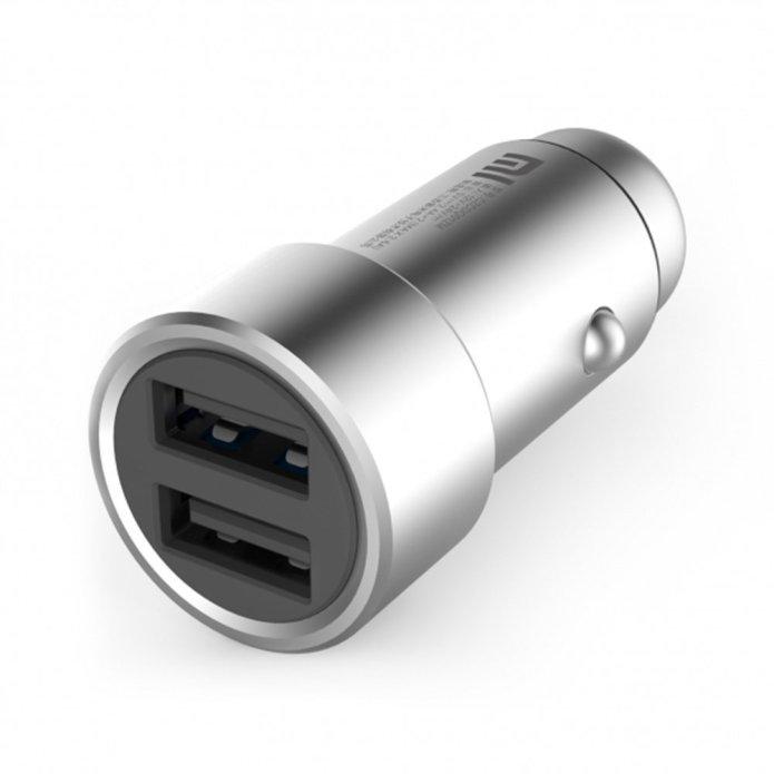 Metal USB cigarette lighter adapter