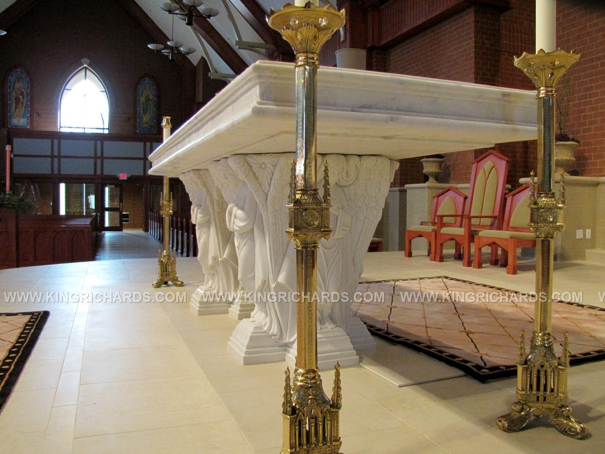 Altars  King Richards Liturgical Design and Contracting