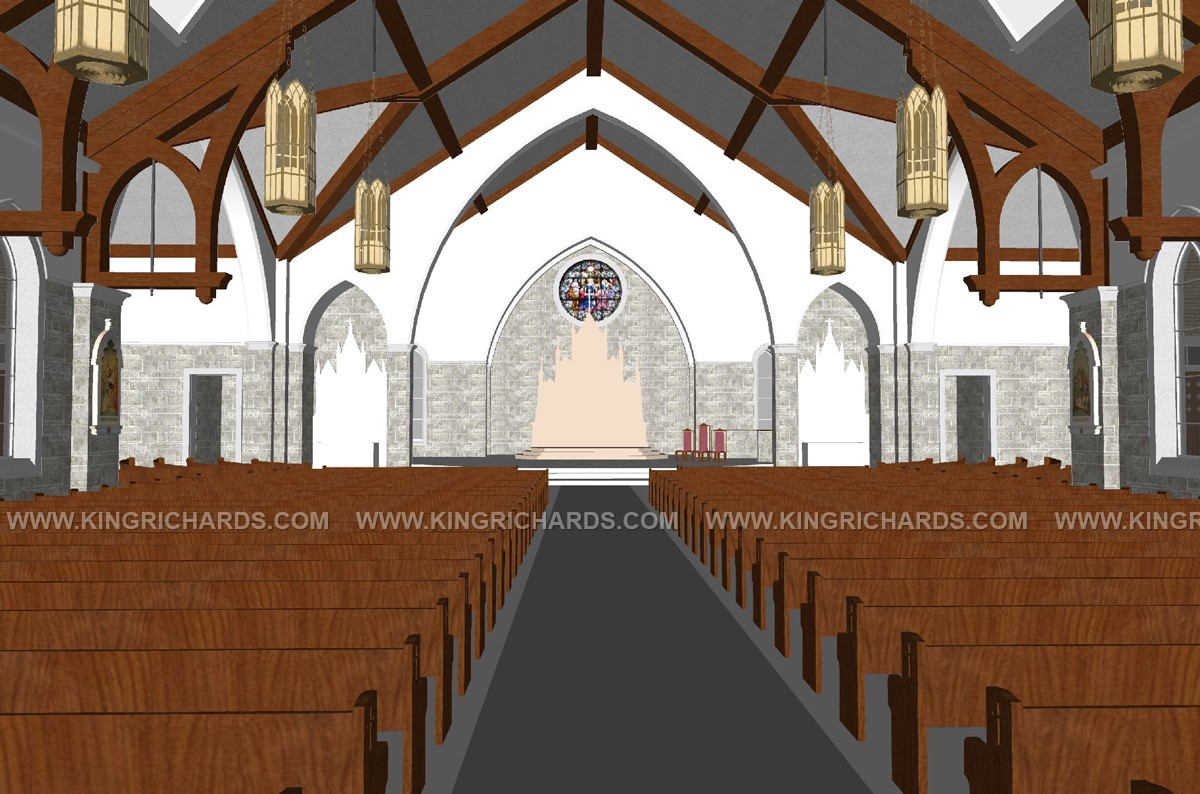 See Our Altar In Your Church Today King Richard S