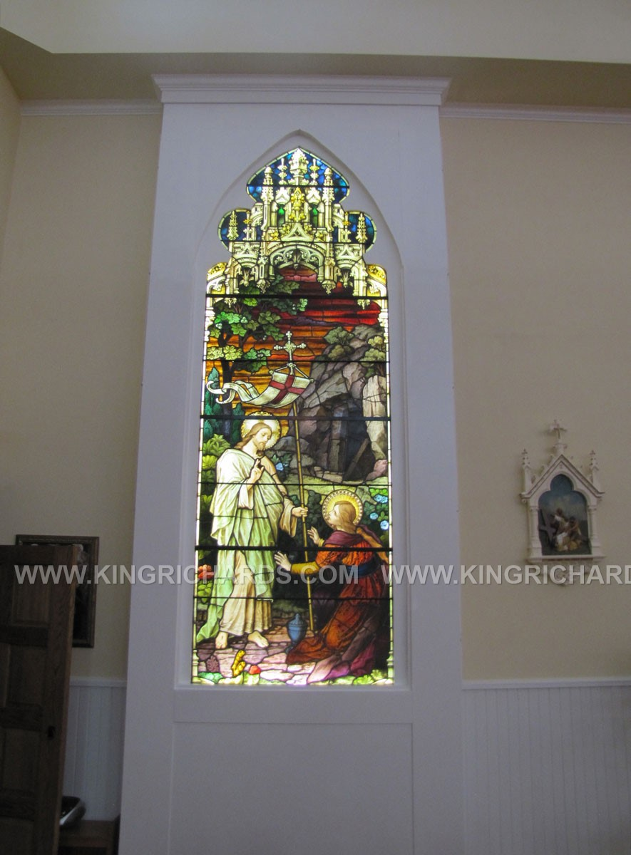 New Stained Glass Light Boxes  King Richards Religious