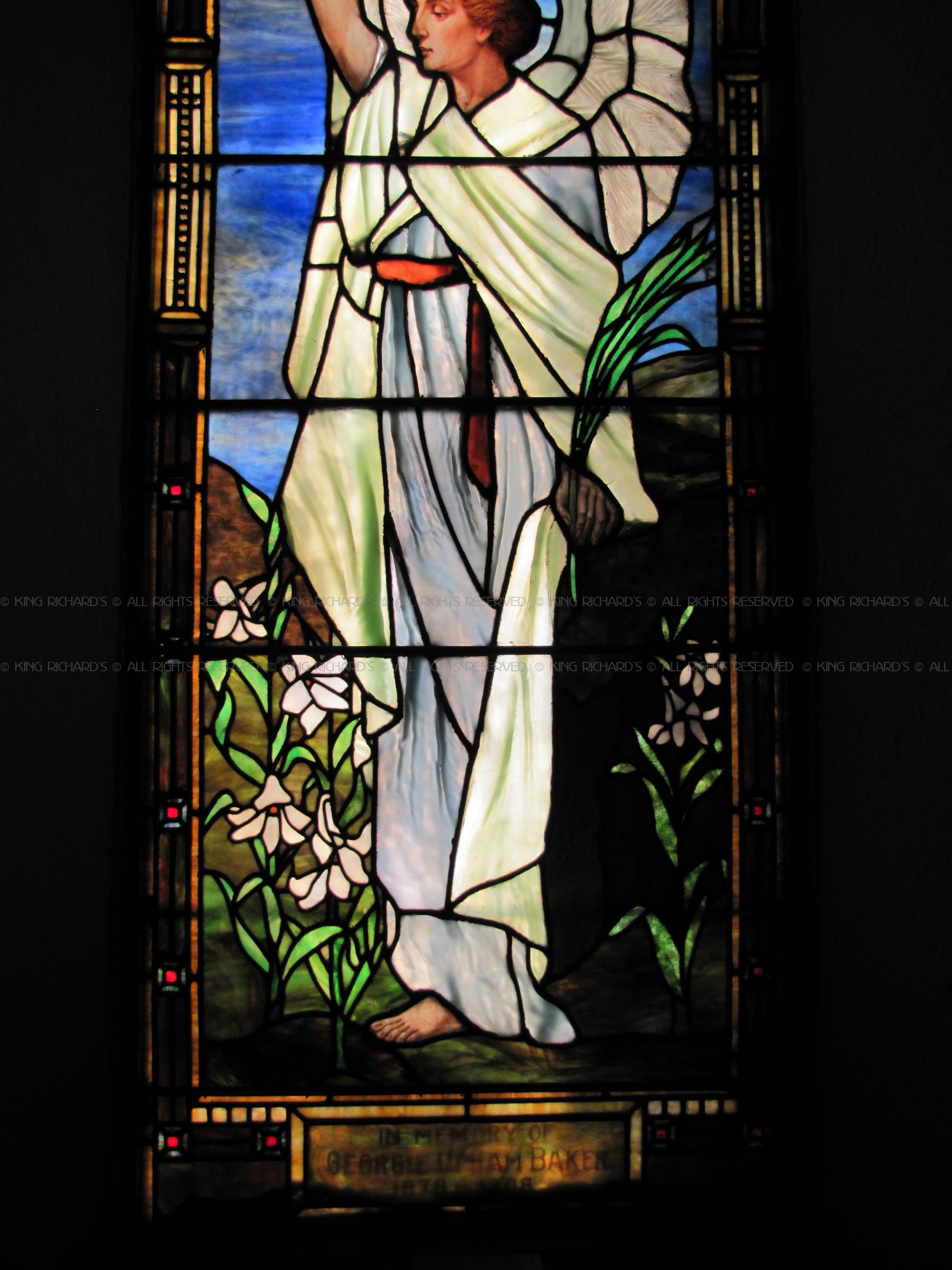 Antique Stained Glass Windows Single Windows Louis