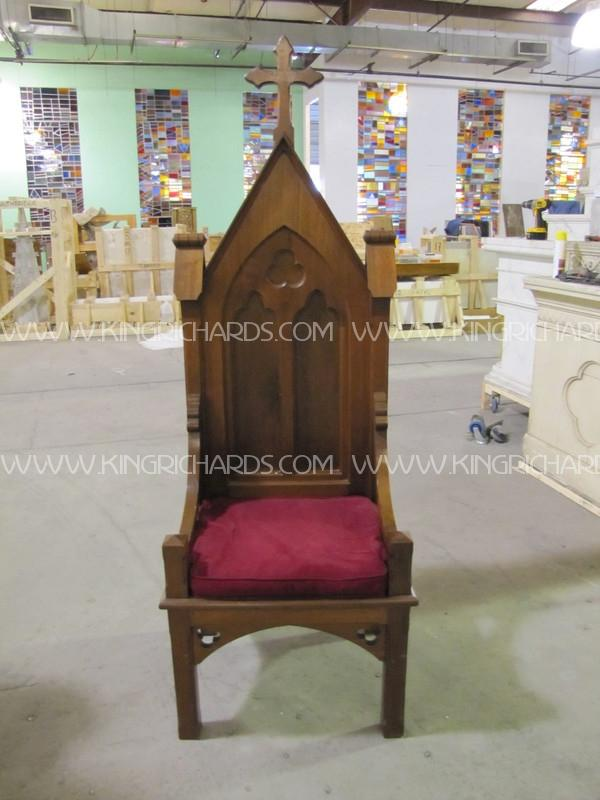 Gothic Presiders Chair