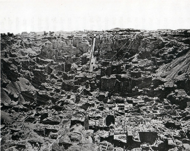 Kimberley Diamond Mine, late 1800s