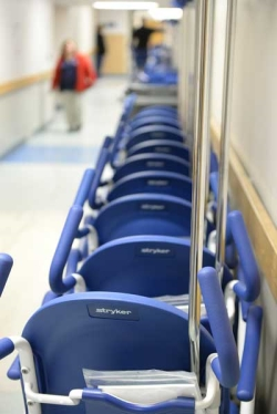 New transport chairs address ageold wheelchair problem