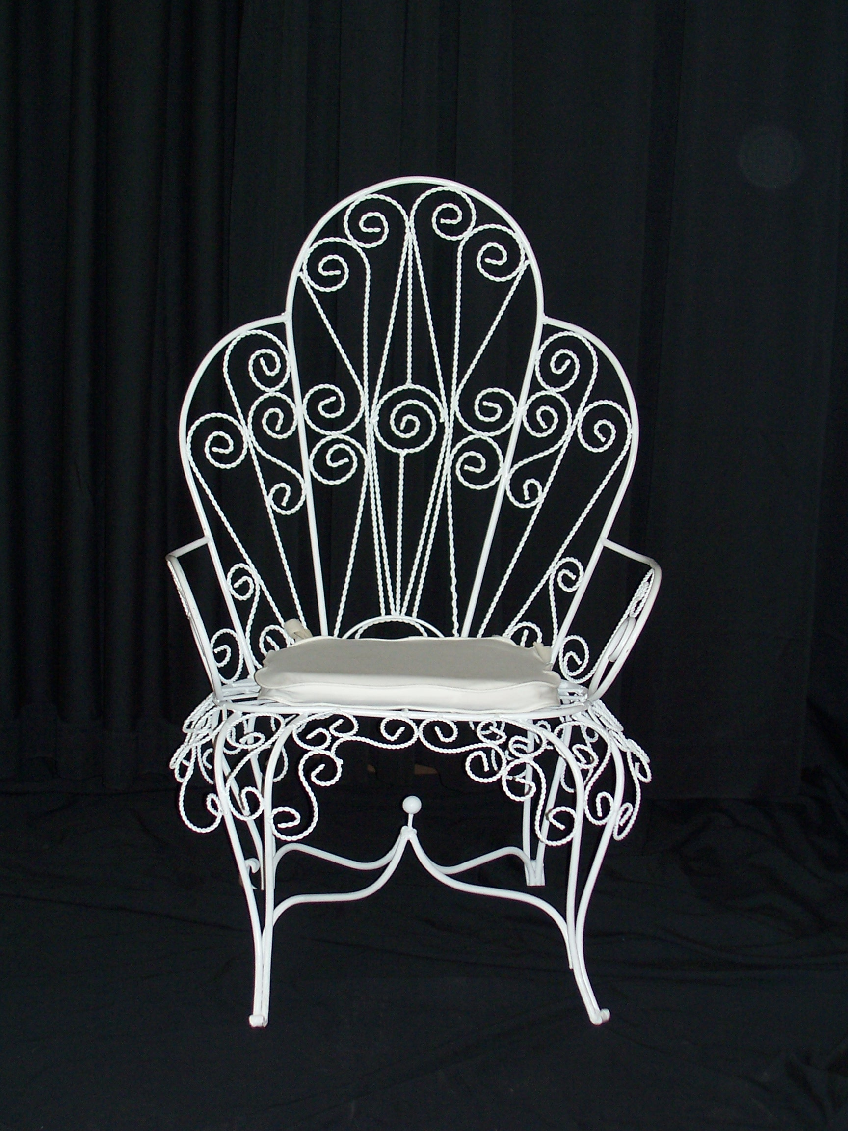 iron chair price restaurant chairs wooden table and rentals king 39s events tents