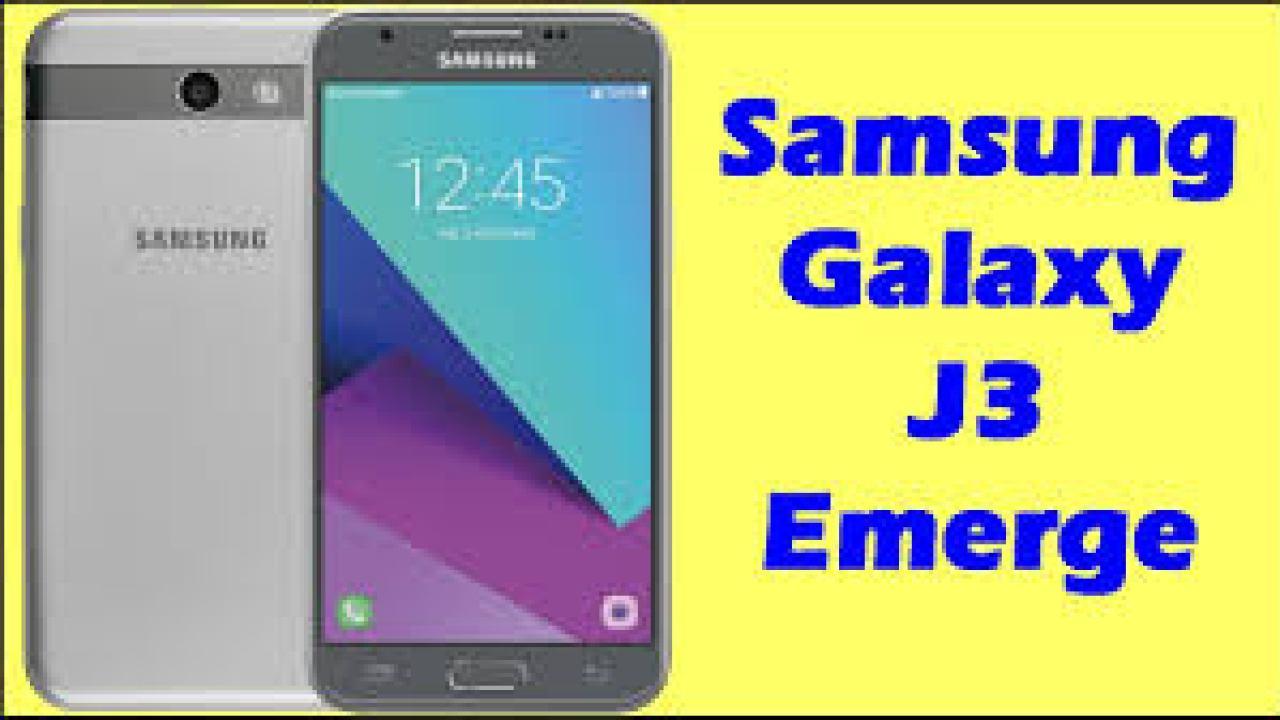 Samsung Galaxy J3 Emerge SM-J327VPP Factory Combination File
