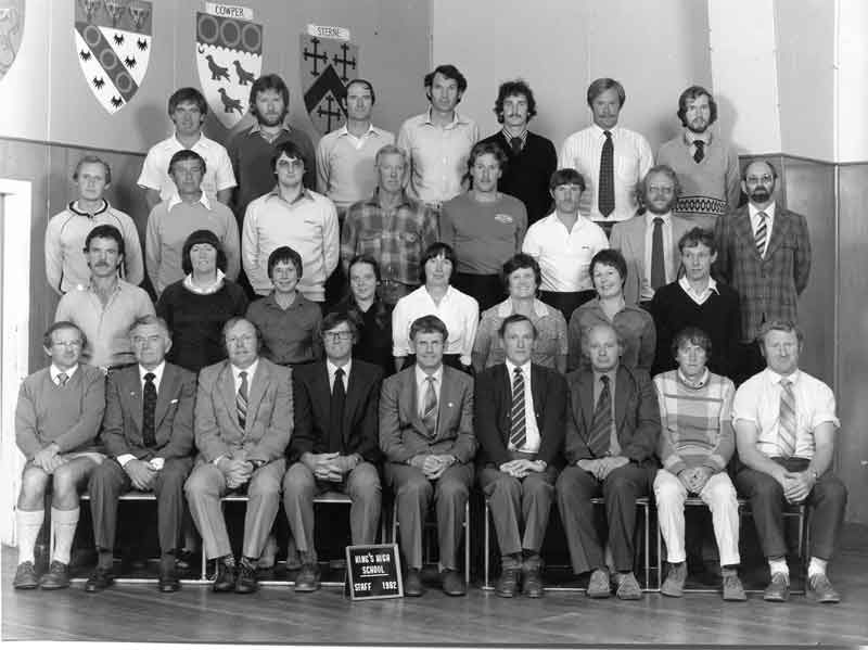 Staff---1982