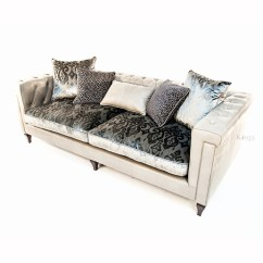 Sofa Cleaning Atlanta Small Sectional Sleeper Sofas Alexander & James Isabel Maxi Leather And Fabric ...