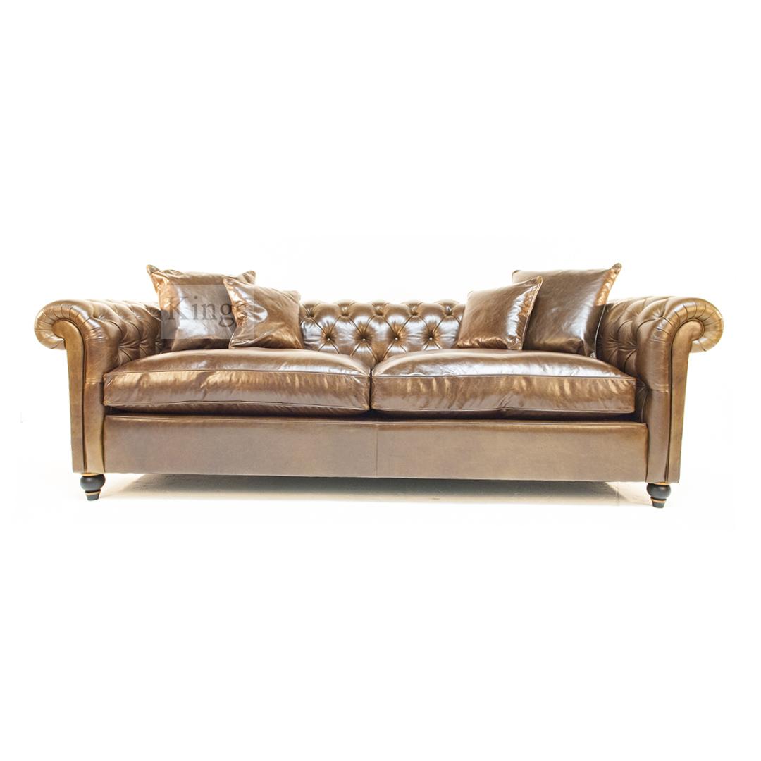 drummond grand leather sofa walmart black futon duresta connaught in