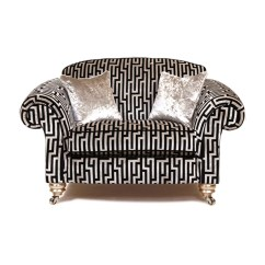 One And Half Seater Sofa Most Comfortable Bed Uk 2017 Gascoigne Designs Georgia A In Gd9459 Kings