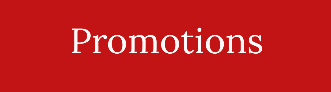 promotions offers and discount