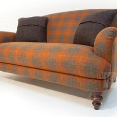 Harris Tweed Bowmore Midi Sofa Small Bed For Bedroom   Brokeasshome.com