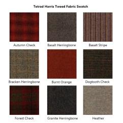 Harris Tweed Bowmore Midi Sofa Painting Ideas Tetrad Fabric Swatch 1