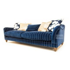 Cleaning Fabric Sofa Stains Basset Sofas Tetrad Upholstery Gatsby Snuggler In Ralph Lauren ...