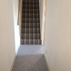 Kitchen Carpet Runner Types Of Flooring For Full House Fit In Silver With Stripe Stairs ...