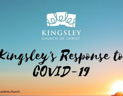 Kingsley's Response to COVID-19