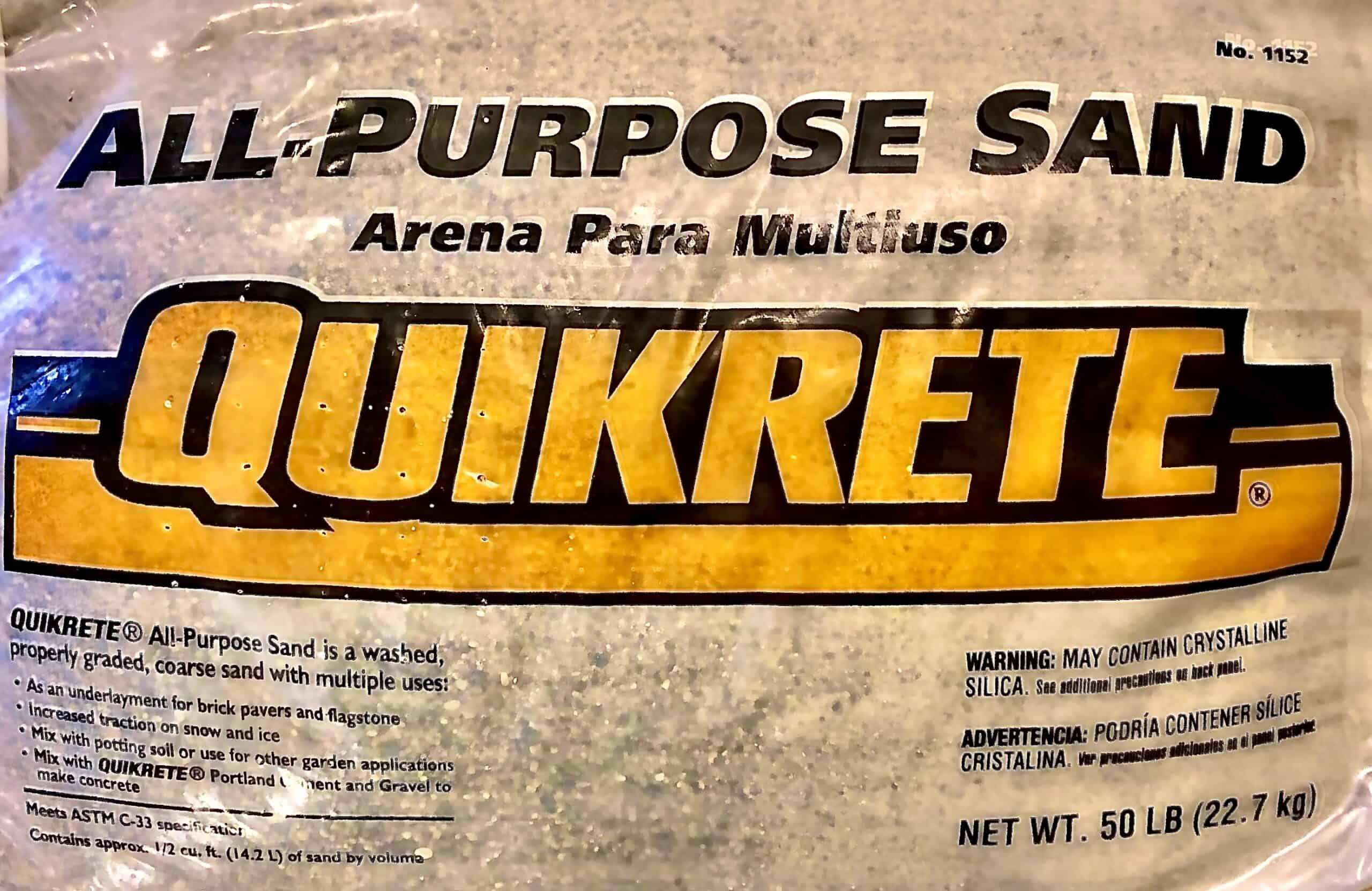 Quikcrete Utility Sand