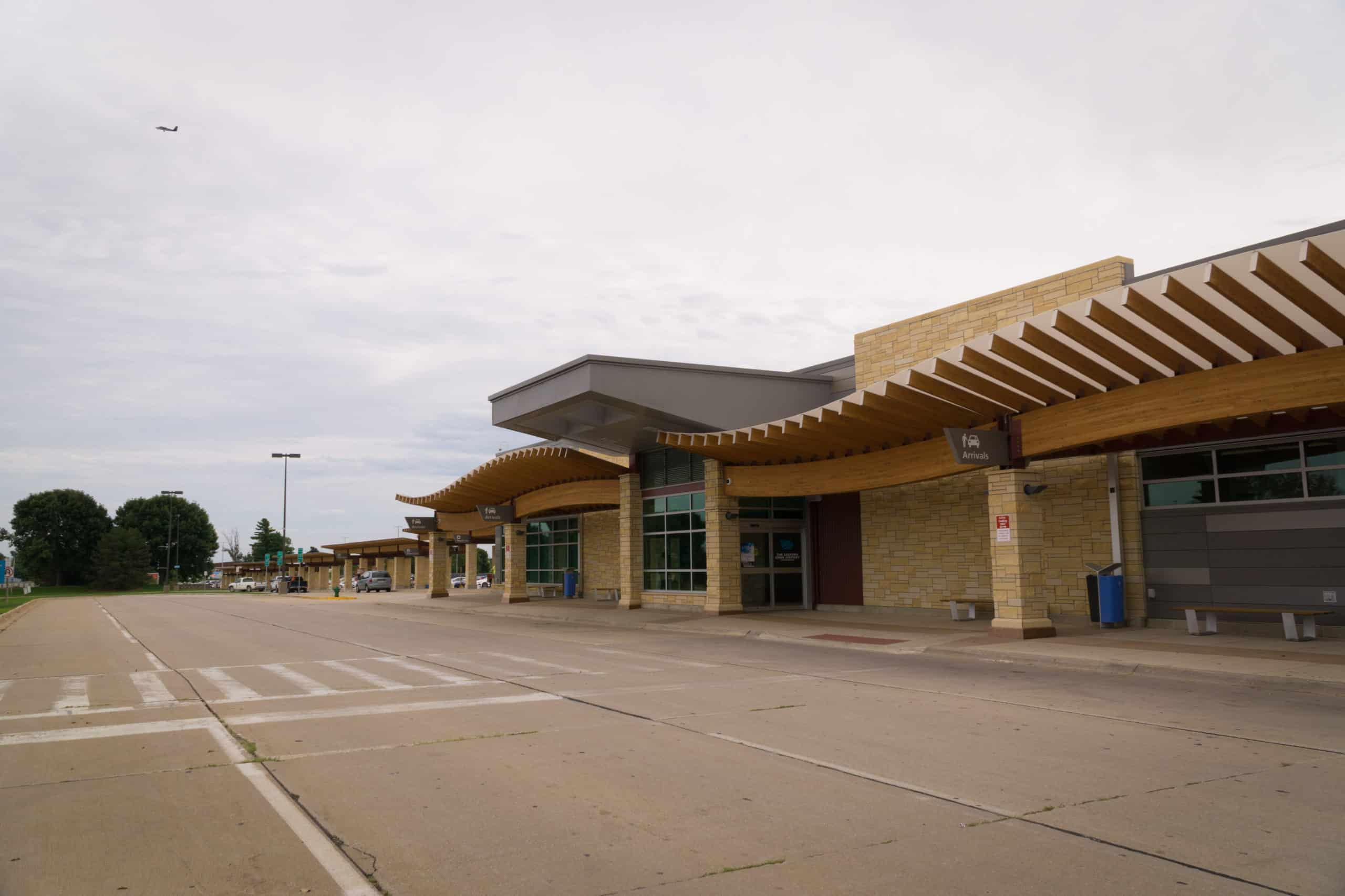 Easteran Iowa Airport Terminal Concrete
