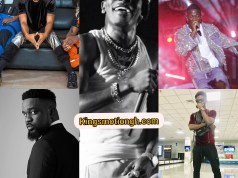 Top ten (10) most played songs in Ghana. List of top 10 songs that were played in 2019 Christmas. kingsmotiongh