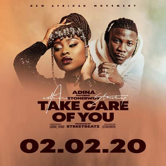 Adina Thembi - Take Care Of You ft. Stonebwoy (Prod. By StreetBeatz)