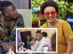 Stonebwoy and Nana Ama McBrown. The Bhimnation president was hosted on United Showbiz on UTV hosted by Nana Ama Mcbrown.