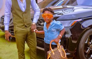 Shatta Wale and his son Shatta Majesty glows in new photo
