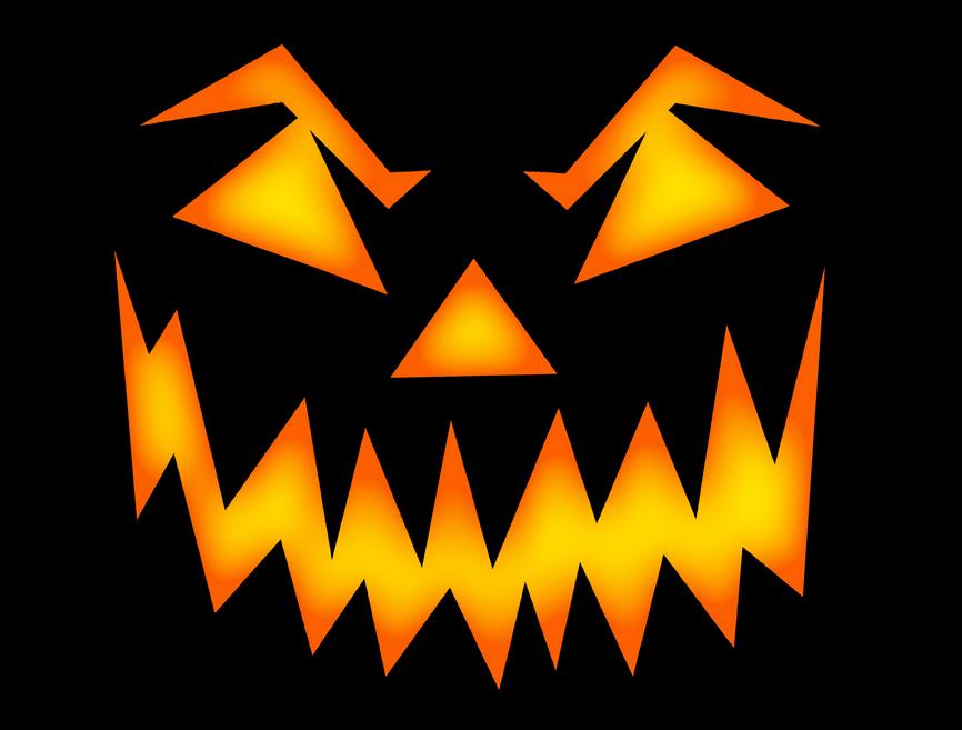 Scary Halloween Pumpkin Clipart 7412671630 Kings Rochester Sports Centre