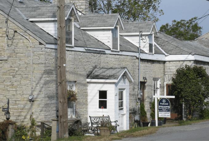 Barriefield Village, historic, Kingston, Ontario