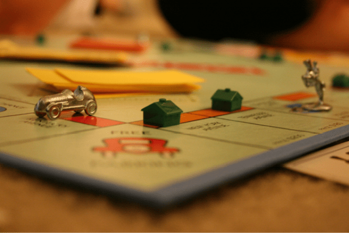Kingston monopoly board, vote for Canadian Monopoly