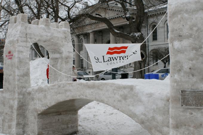Feb Fest, 24 Hour Snow Sculpture Competition, Winter Festival, Kingston, Ontario