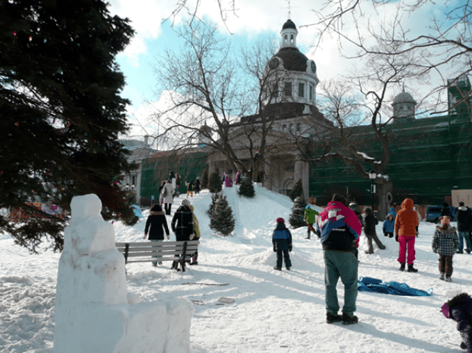 Feb Fest 2011, winter festival in Kingston, Ontario