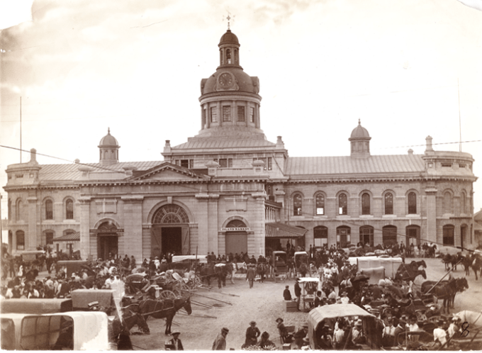 City Hall, market square