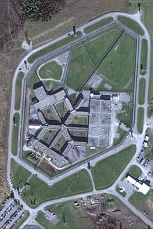 Aerial view of Millhaven Institution
