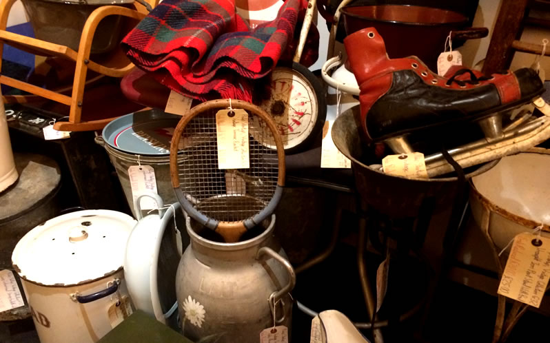 Vintage and antiques shopping in Kingston upon Thames