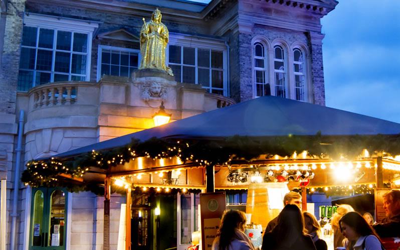 Christmas lights swithc on in Kingston 17th November