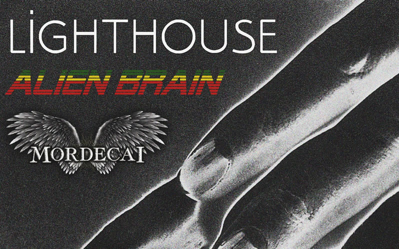 Lighthouse, Alien Brain, Mordecai at the Fighting Cocks Kingston
