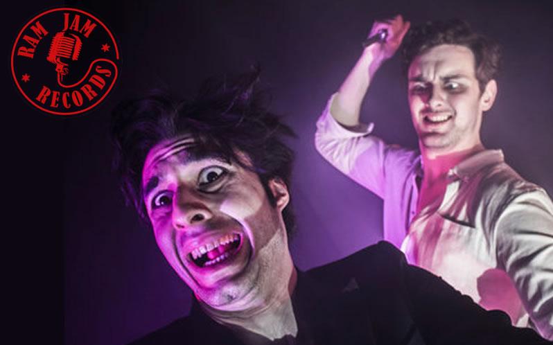 Harold and Arthur Horror at Ram Jam Records