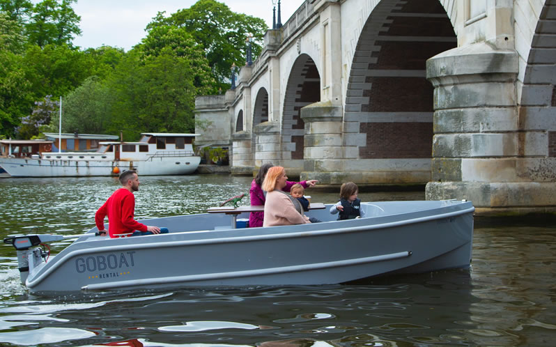 GoBoat Electric Boats Kingston