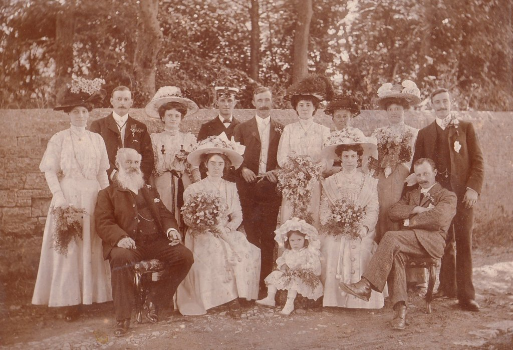 WEDDING OF AUGUSTUS WALSHE AND NANCY