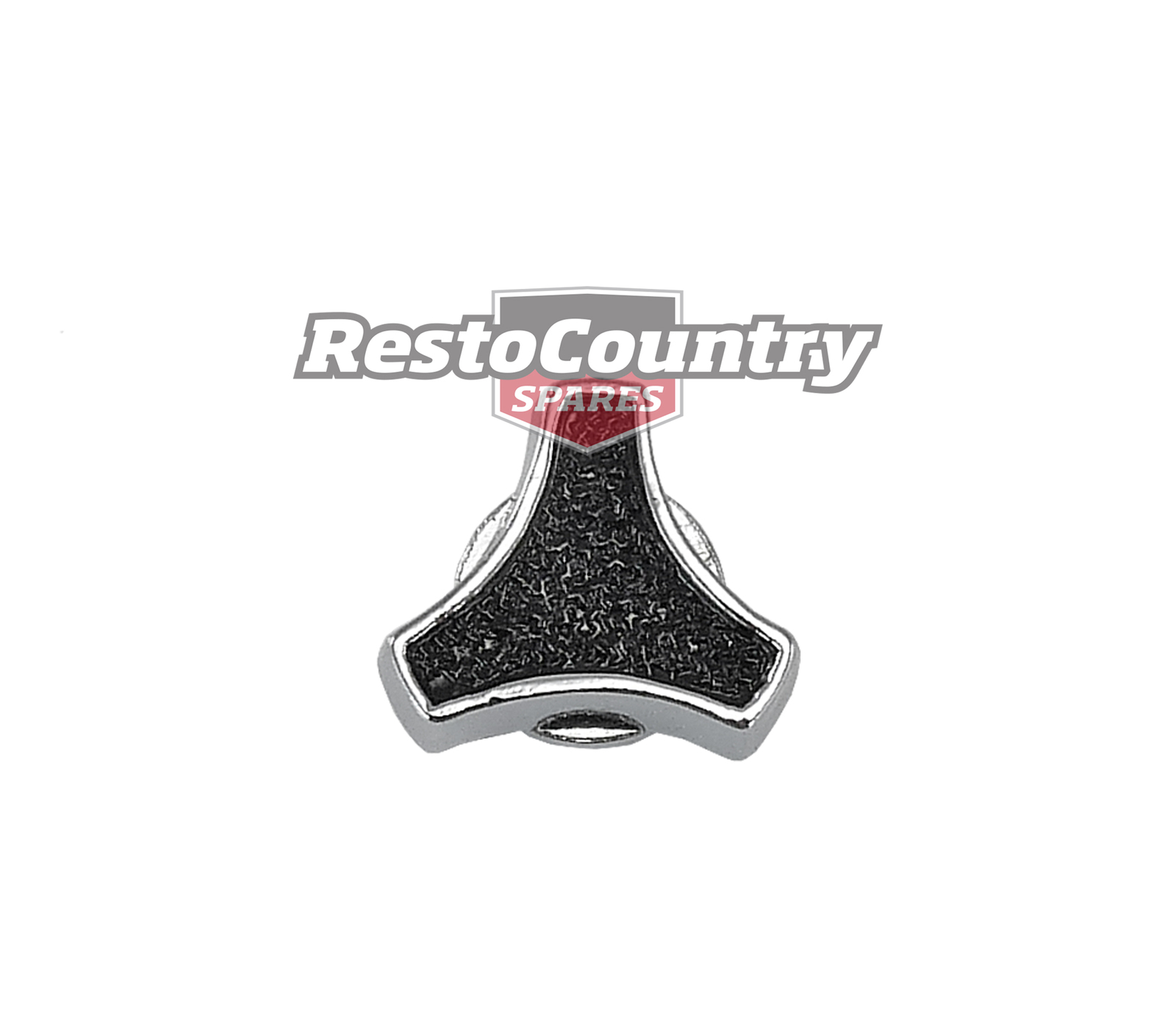 Speco El Toro Air Cleaner Wing Nut Small Black Chrome 1